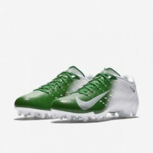 Nike vapor speed 3 white green football cleats 16